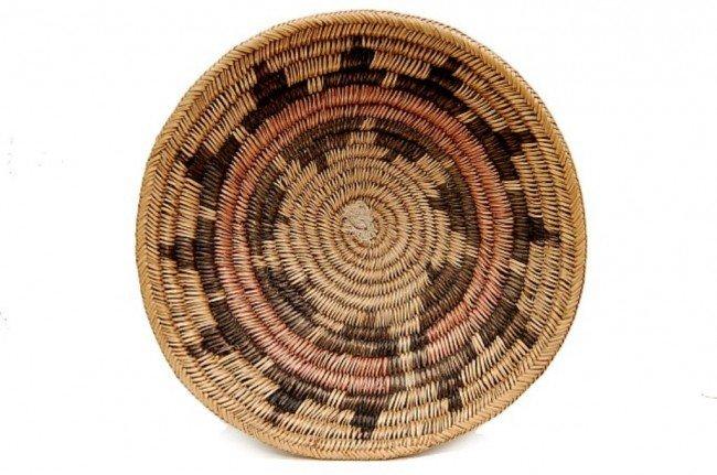 """23: Vintage Navajo ceremonial 14"""" wedding basket"""
