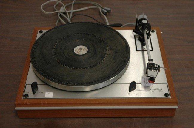 6: Vintage Thorens TD 165 Turn Table