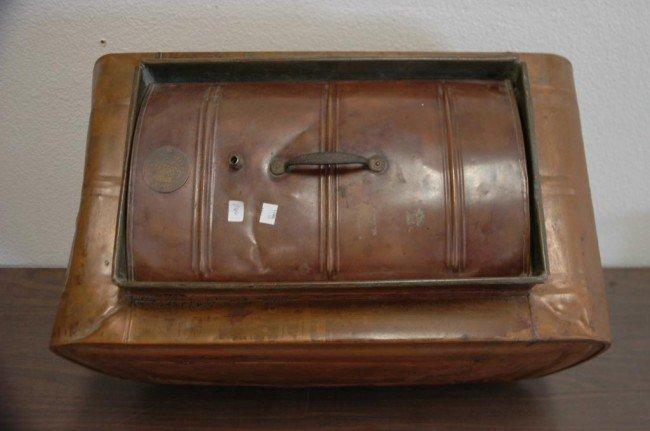 12: Antique Midland Railroad Pure Copper Washer