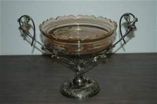 Victorian Middletown Co. Silverplate Centerpiece