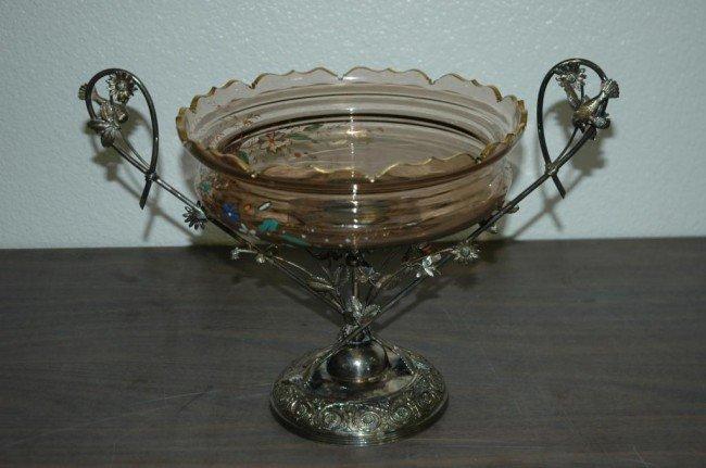 23: Victorian Middletown Co. Silverplate Centerpiece