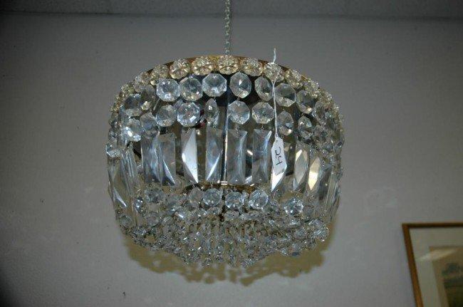24: Vintage 3 Light Ceiling Chandelier
