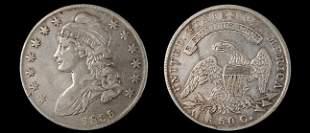 1835 capped bust half dollar