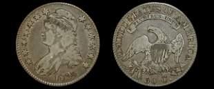 1824 capped bust half dollar