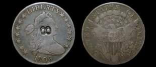 1806 draped bust half dollar