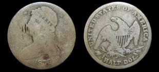1838 US capped bust half dollar