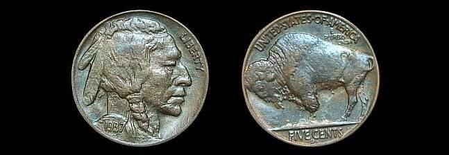 125B: 1937 double D three leg Buffalo