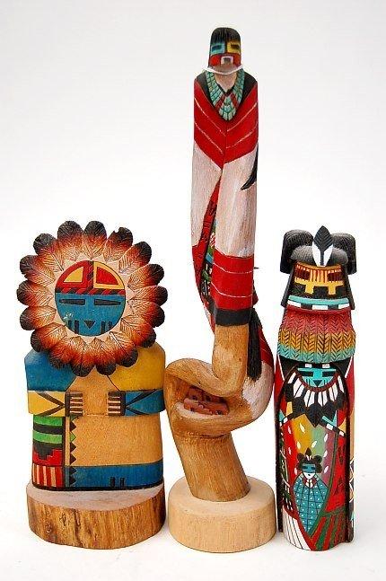 7: Hopi Pueblo kachinas