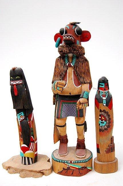 8: Hopi Pueblo kachinas
