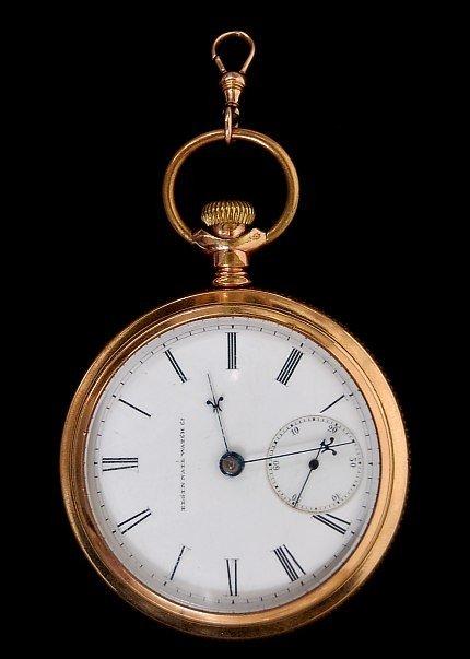 18: 1881 Elgin National Watch pocket watch