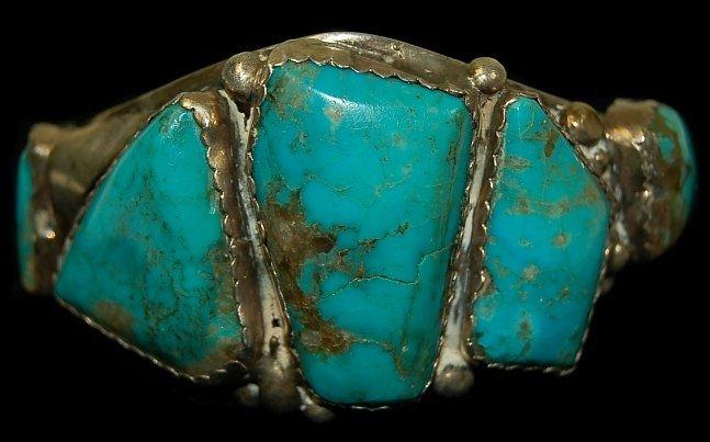 12: Vintage Navajo sterling cuff