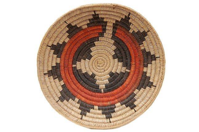 "11: Vintage Navajo 14"" wedding basket"
