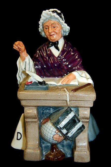 "18: Royal Doulton ""Schoolmarm"" figurine"