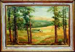 Pat Swallow original oil painting
