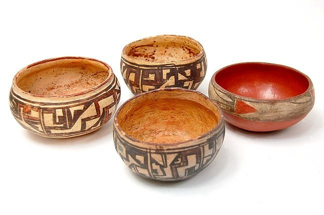 30: RARE Kiva hand made ceremonial bowls