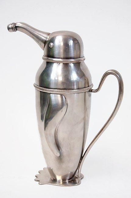 35: Schuelke design penguin cocktail shaker