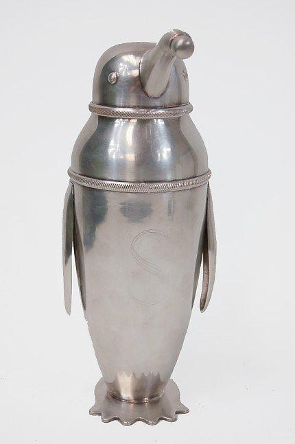 35: Schuelke design penguin cocktail shaker - 2