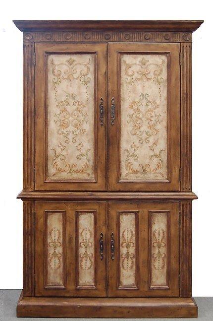122: Hooker Furniture Tuscan armoire