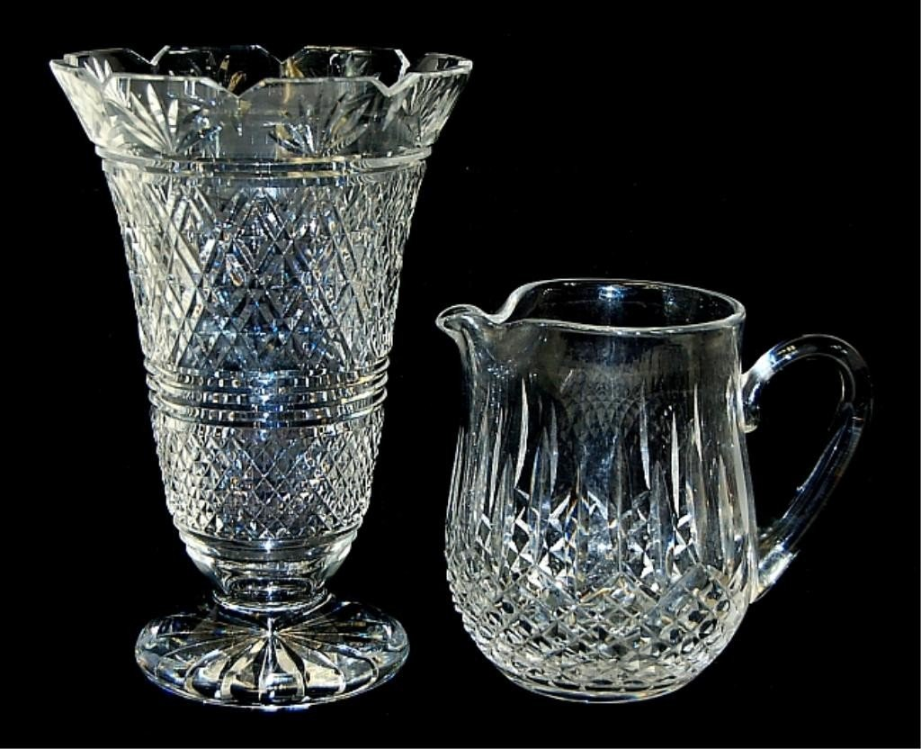 5: Pair of Waterford crystal pieces