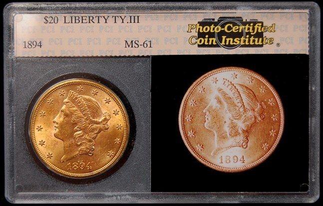 1894 U.S. $20 Liberty gold piece