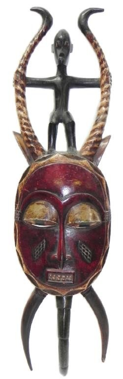 4: African ceremonial mask
