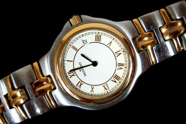 17: Movado men's Classic watch