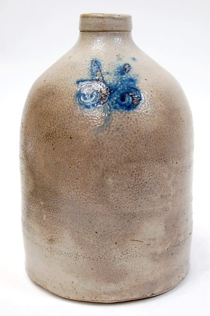 "18: 19th cen. East Coast 11"" stoneware jug"