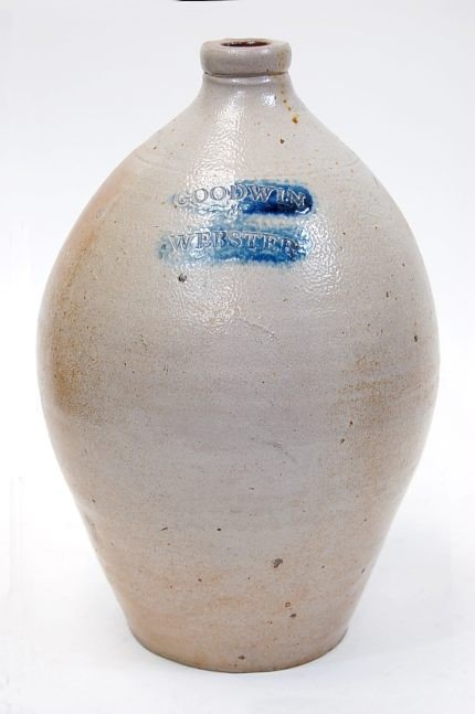 19: 19th cen. Goodwin & Webster stoneware jug