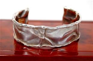 Matt Muralt designed 18K sterling bracelet