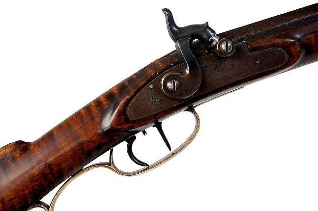 109: H. E. Leman Pennsylvania rifle