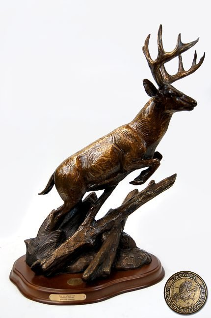 47: MINT Terrell O'Brien (20th cen. TCAA) bronze