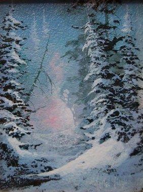 13: Ted Blaylock (né 1946) original oil painting