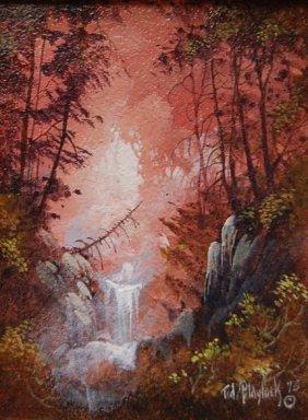 Ted Blaylock (n� 1946) Original Oil Painting