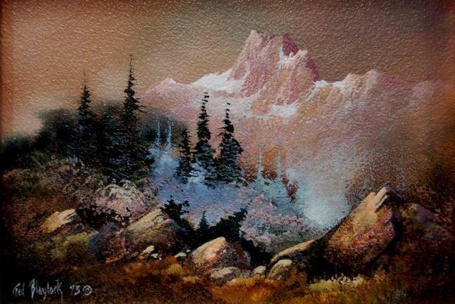 29: Ted Blaylock (né 1946) original oil painting
