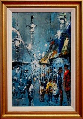 Gordon Craig Original Oil Painting On Board