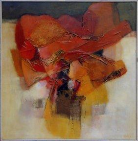 22: Jack Roush original oil painting on canvas, the ima