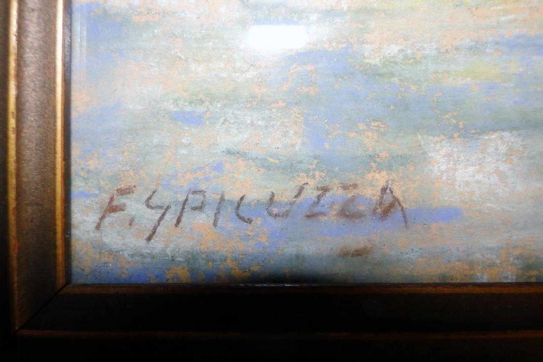 Francesco Spicuzza Pastel of Pine Lake - 3
