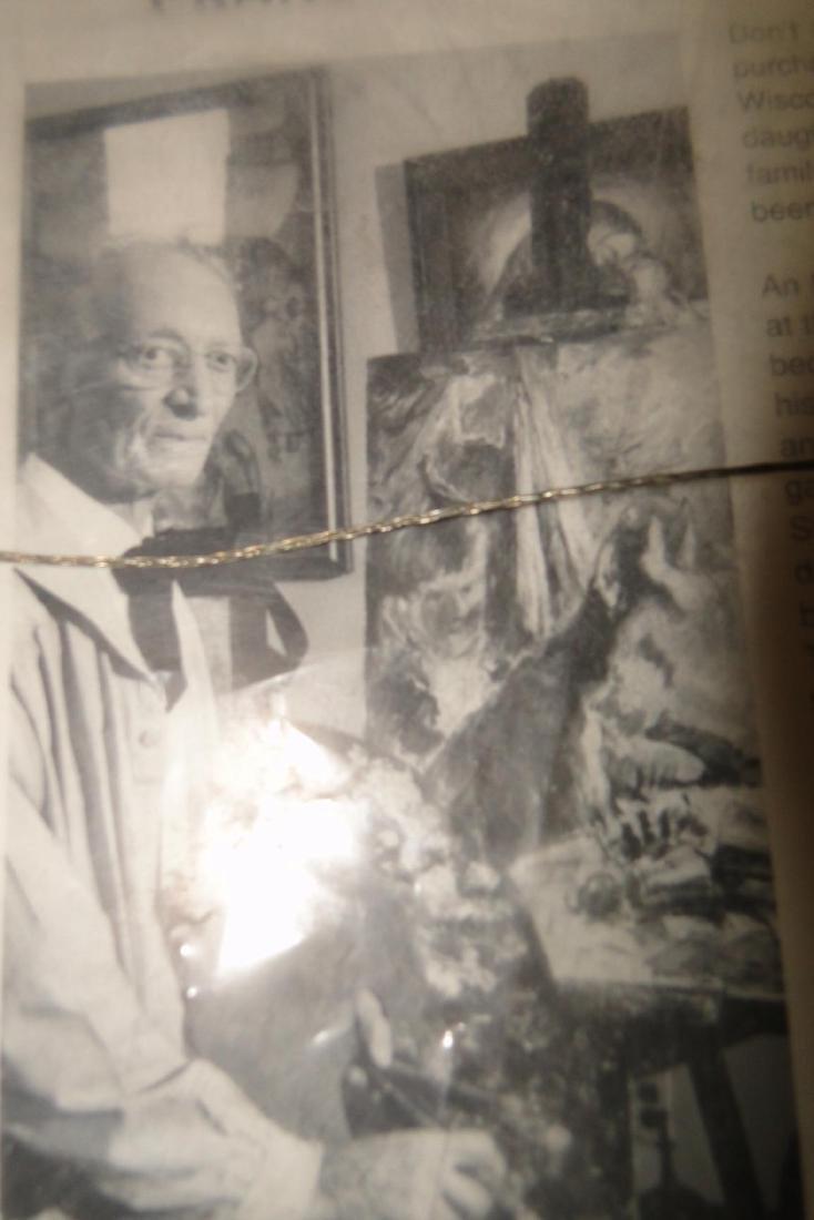 Francesco Spicuzza Pastel of Pine Lake - 7