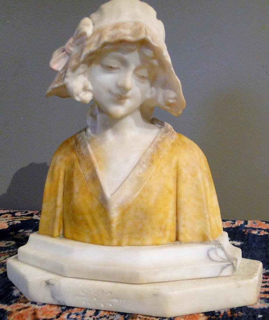 Marble Bust of Young Beauty - 2