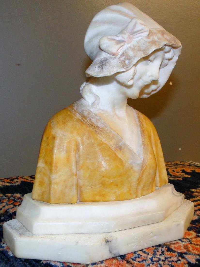 Marble Bust of Young Beauty - 3