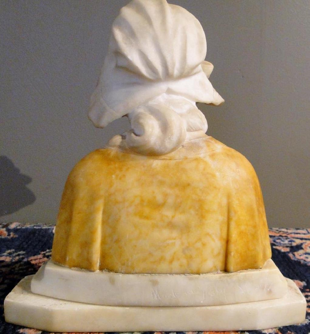 Marble Bust of Young Beauty - 4