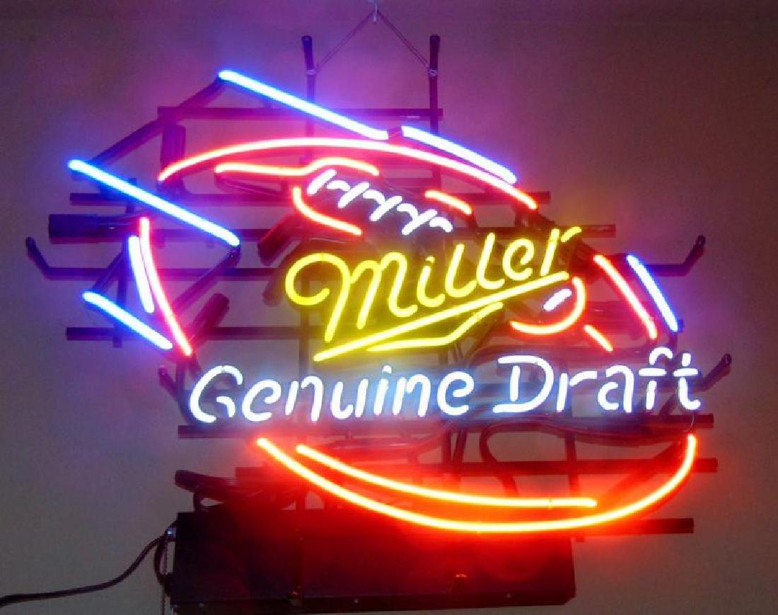 Miller Genuine Draft Beer Neon Sign