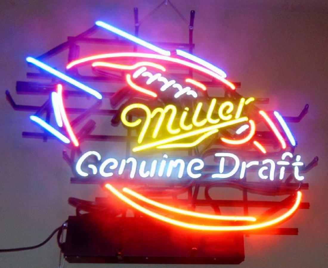 Miller Genuine Draft Beer Neon Sign - 2