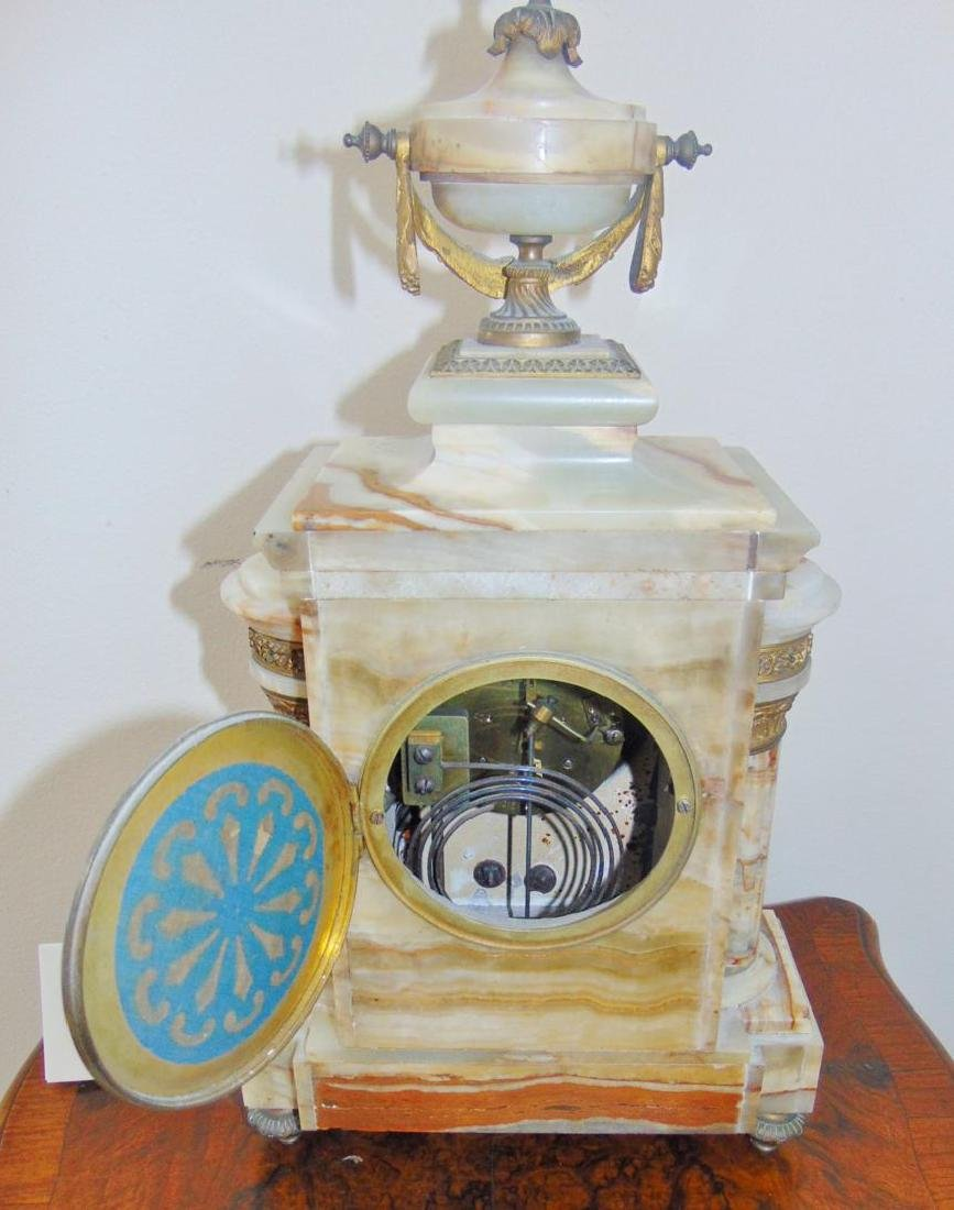 Onyx Mantle Clock French - 5