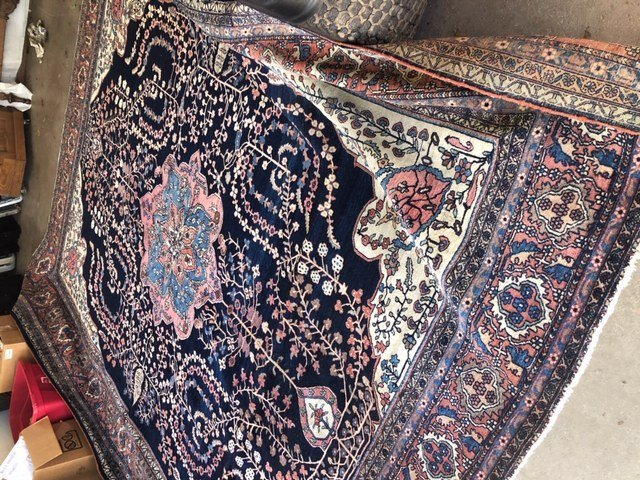 Antique Iranian Rug - 10