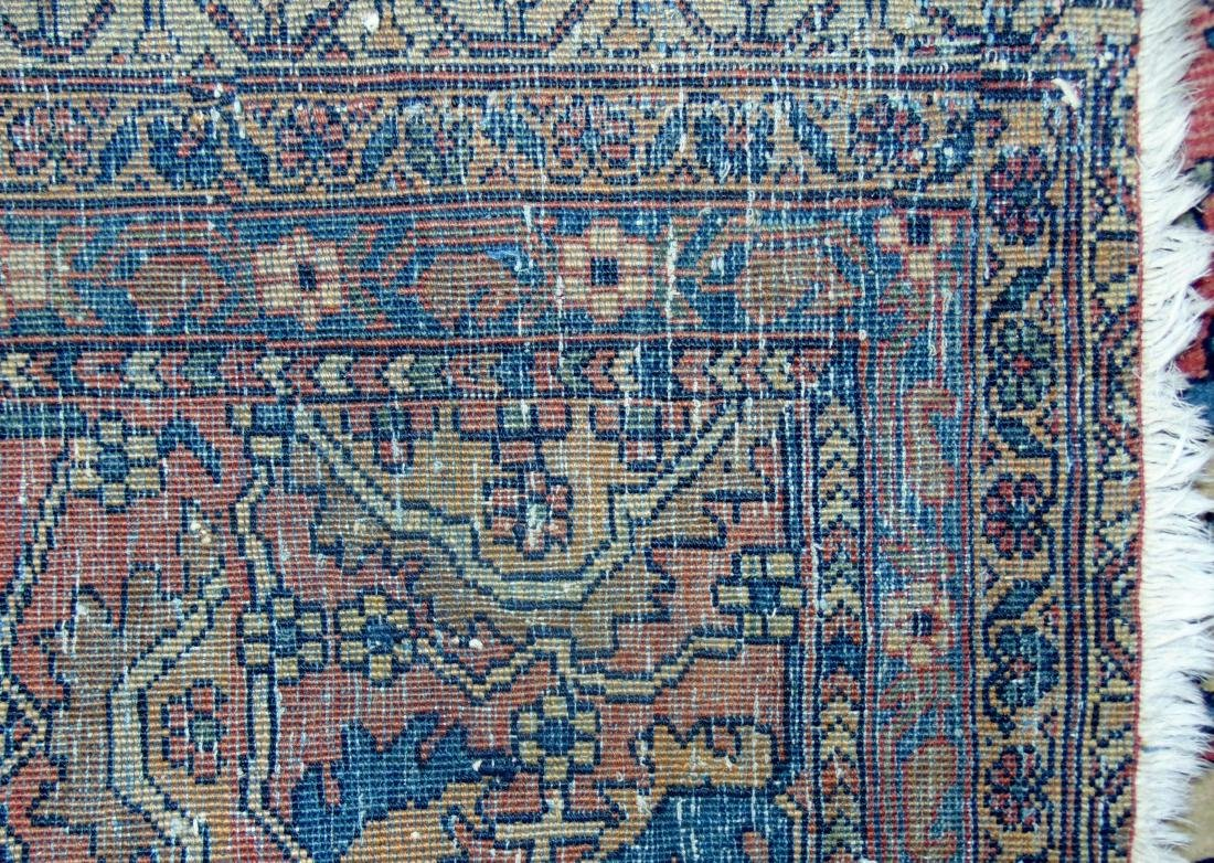 Antique Iranian Rug - 5