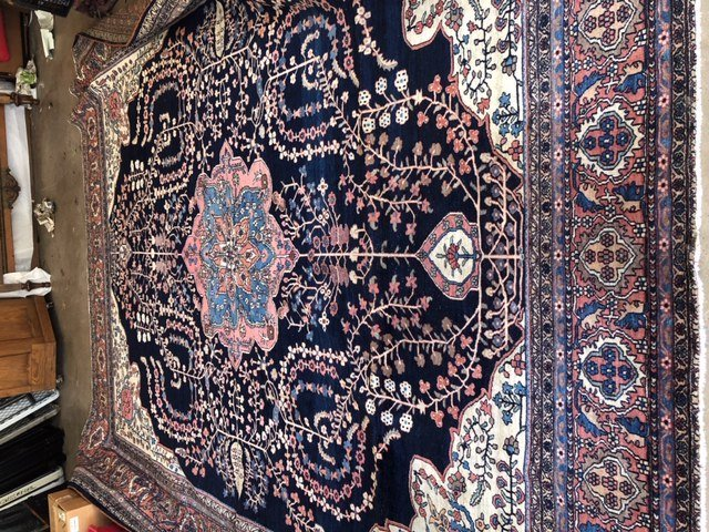 Antique Iranian Rug - 6