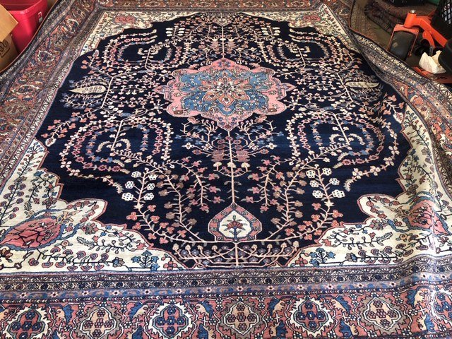 Antique Iranian Rug - 7