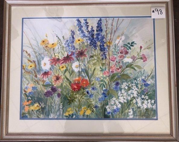 Constance Swenson Watercolor - 2