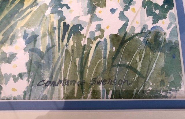Constance Swenson Watercolor - 4